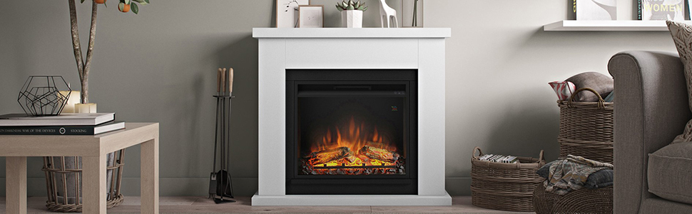 Frode Electric Fireplace Banner