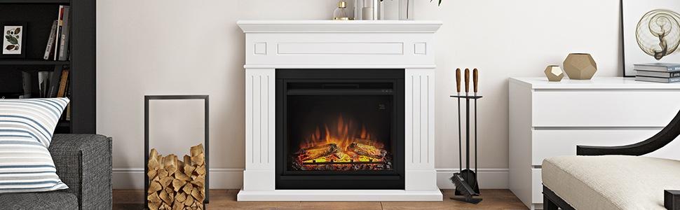 Larsen Electric Fireplace